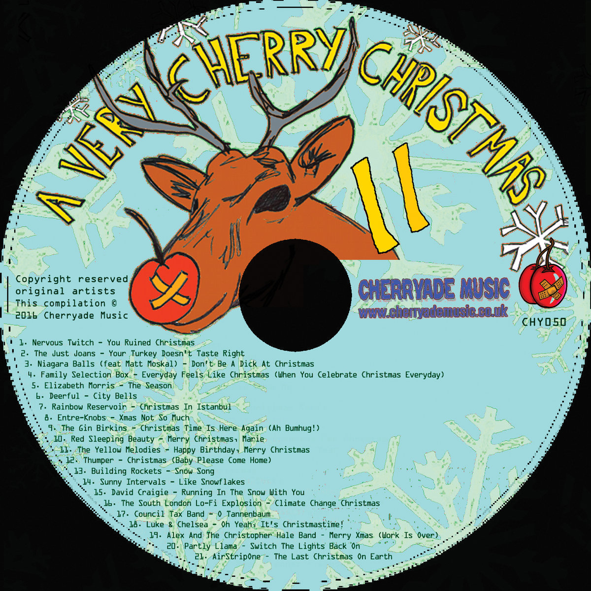 a very cherry christmas volume 11 limited edition cd of 200 copies