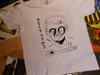 """Dead Arms """"SPANNER"""" T-Shirt (White) main photo"""