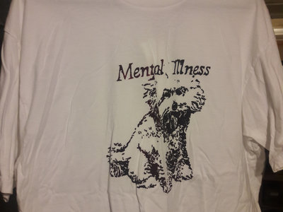 Mental Illness Poodle T-shirt main photo