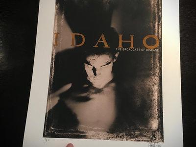 "IDAHO ""Broadcast Of Disease"" giclee fine art print main photo"