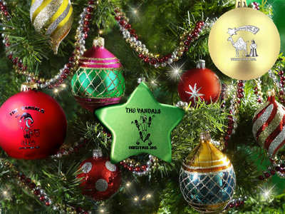 Save $3 and Buy the Limited Trio Pack of Vandals Ornaments!! main photo