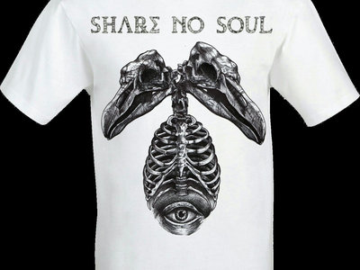 *NEW* Share no Soul Dino Skeletwin T Shirt main photo