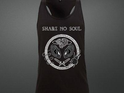 *NEW* Share no Soul Holofernes BLACK Unisex Racerback Vest main photo