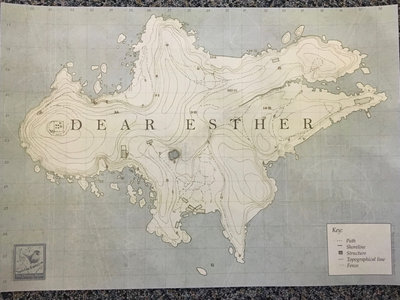 """Dear Esther"" A3 Map main photo"