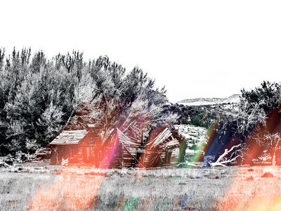 William Fowler Collins & James Jackson Toth 'Under Stars And Smoke' LP (White / Black Swirl) main photo