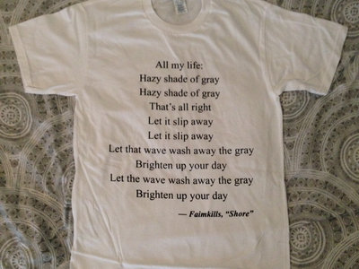 Shore (poem) T-Shirt main photo