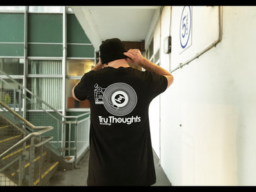 Tru Thoughts 2016 'Player' T-Shirt (BLACK) + 'Tru Thoughts 2016' Compilation main photo