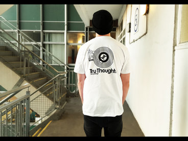 Tru Thoughts 2016 'Player' T-Shirt (WHITE) + 'Tru Thoughts 2016' Compilation main photo