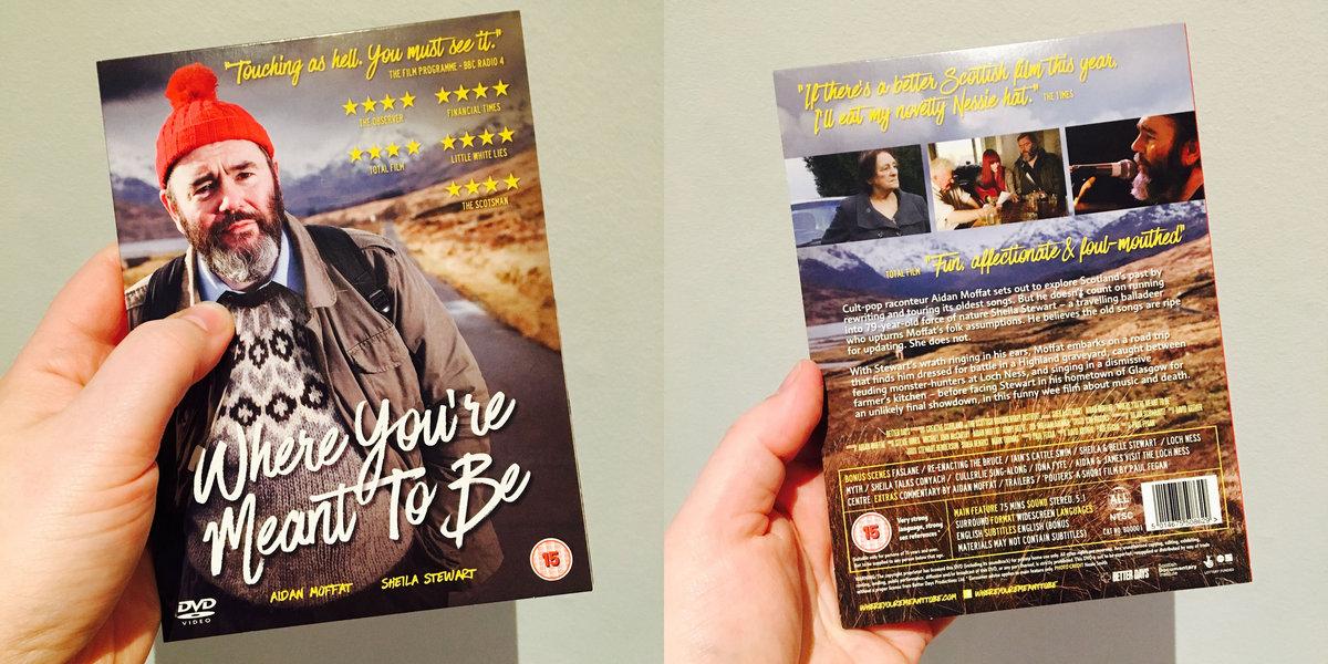Where You're Meant To Be – DVD (Region Free) | Aidan John Moffat