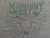Midnight North Skull Logo Macchiato Shirt photo