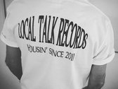 Local Talk - Housin' since 2011 - Limited Edition T-shirt (Black/White) photo