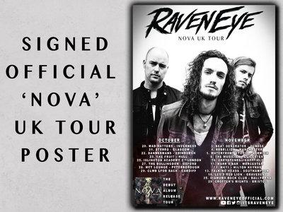 SIGNED 'NOVA' UK Tour Poster main photo