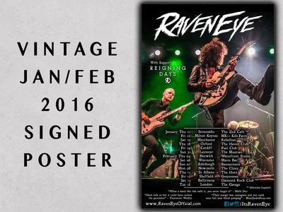 Signed 2016 UK Tour Poster main photo