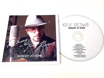 Autographed CD - Nobody at Home - FREE SHIPPING! main photo