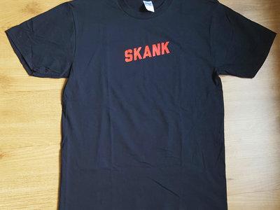 SKANK box logo t-shirt main photo