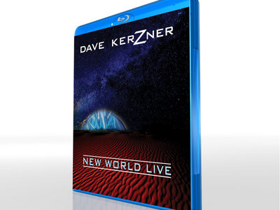 **Signed** Blu-ray Dave Kerzner New World Live Concert Video main photo