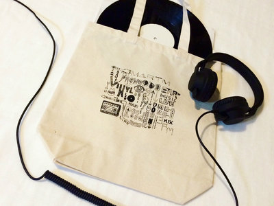 Music Life Words Tote Bag main photo