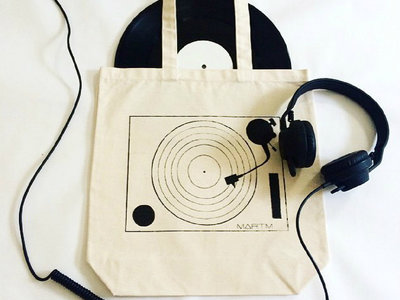 MARTM TURNTABLE TOTE BAG main photo