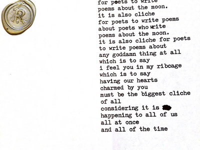 Typewriter Poem main photo