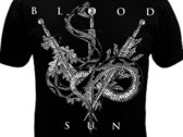NEW //OAK DAGGER SNAKE LAVENDER//BLOOD AND SUN SHIRT DESIGN photo
