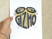 Gizmo Logo Print Limited Edition photo
