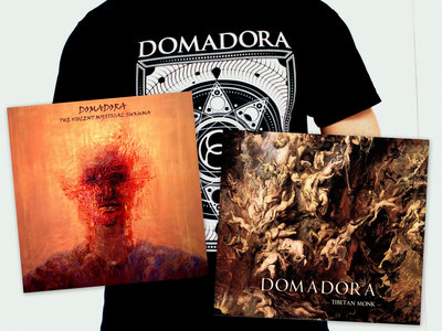 PACK DOMADORA ##  2 ALBUMS (CD) + T-shirt 2016  ## main photo