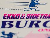 """Burgle"" Limited Edition 2 Colour Risograph Print photo"