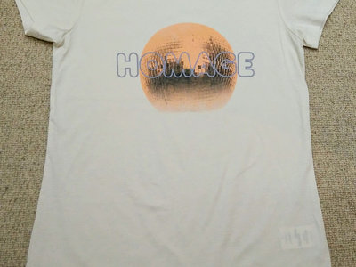Beige Homage Girls T-Shirt main photo