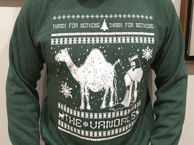 Thanx for Nothing Christmas Camel Turd Pullover - Super High Quality main photo