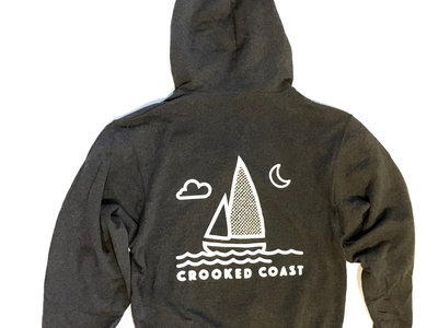 Night Ship zip up hoody main photo