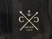 Night Ship zip up hoody photo