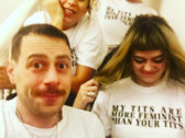 Limited Edition 'My Tits Are More Feminist Than Your Tits' photo