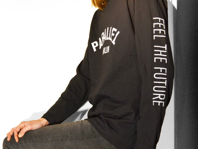 Longsleeve _ Black _ Feel The Future (unisex) / LIMITED EDITION main photo