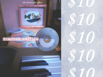 The Butterfly Effect - Limited Edition Hand Painted CDs main photo