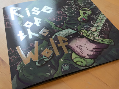 Rise of the Wolf Art Booklet main photo