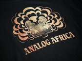 Analog Africa Men T-Shirt - Screen Printed - Limited Serie photo