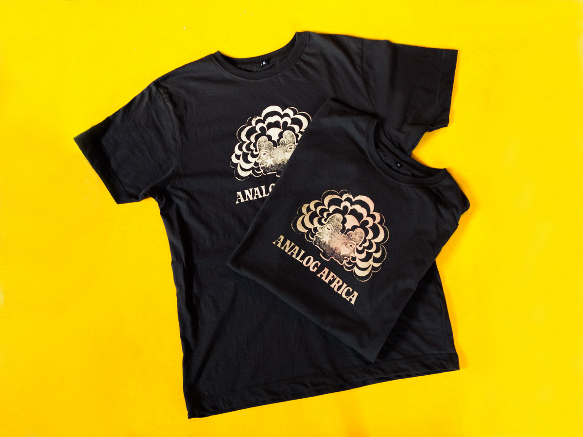 Analog Africa Men T-Shirt - Screen Printed - Limited Serie ...