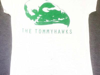 **SALE** White bird skull teeshirt main photo