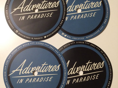 Adventures In Paradise Control Vinyl Stickers (Set of 4) main photo