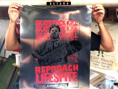 Skate Fuck Kill - UK weekender poster (screen print) main photo