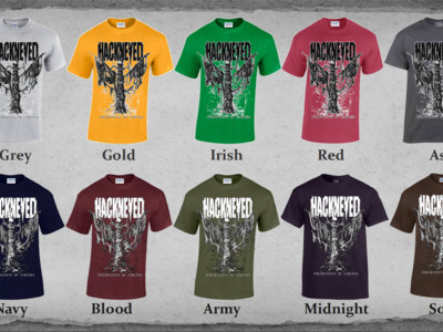 T-Shirt - Inhabitants Of Carcosa - White, Grey, Gold, Irish, Red, Ash main photo