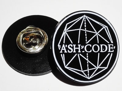Ash Code 'Logo' Black METAL Pin main photo
