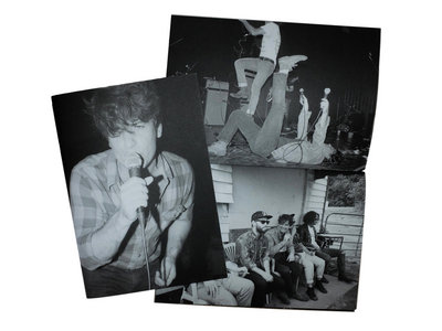 Justin and The Cosmics - photo zine by Emily Beaver Limited Edition of 50, numbered. main photo