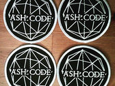 Ash Code 'Logo' Round Patch photo