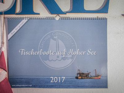 Fischerboote auf Hoher See - 2017 - A3 Kalender main photo