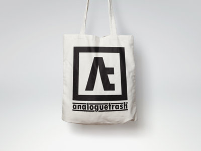 AnalogueTrash Logo Tote Bag main photo