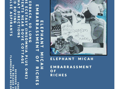 Elephant Micah // Embarrassment of Riches // 10th Anniversary Tape Reissue main photo