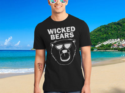 Wicked Bears Logo T-Shirt - Black main photo
