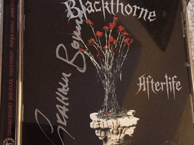 Blackthorne - 'Afterlife' Remastered CD SIGNED by GRAHAM main photo