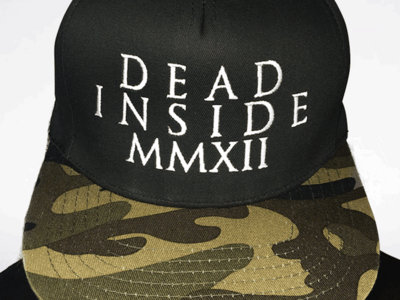 Peaked Dead Inside Snapback Cap main photo